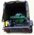 Установка дезинфекционная ЛСД-3М на автомобильном прицепе
